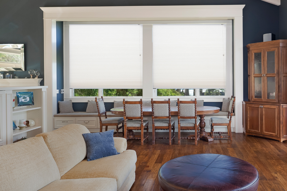 Thermacell honeycomb blinds corded