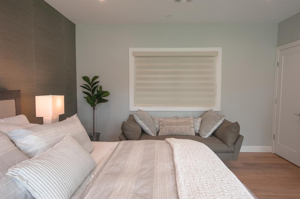PerfectSheer blind closed shown in bedroom