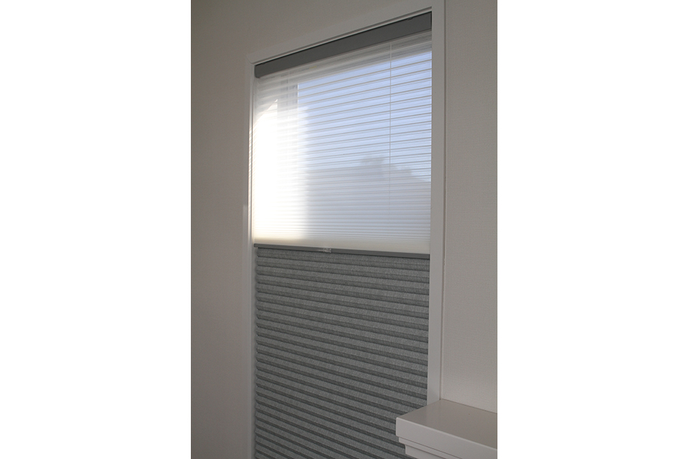 Thermacell honeycomb blind